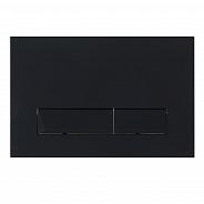 Кнопка смыва BelBagno Marmi, 15x23x0,65 см, чёрный матовый tocco morbido (BB012-MR-NERO.M)