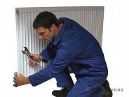 Монтаж радиаторов отопления стандартный