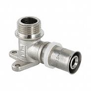 Пресс-фитинг угольник с креплением с наружной резьбой Valtec 16 х 1/2 (VTm.255.N.001604)