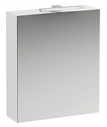 Зеркальный шкаф Laufen Base (4.0275.2.110.260.1) (60 см) (белый матовый) с LED подсветкой