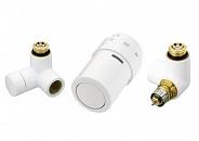 Danfoss (Данфосс) Комплект терморегулятора RAX белый левый 1/2 (013G4008)