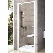 Душевая дверь Ravak Pivot PDOP1 (03G70100Z1) (90 см) стекло прозрачное, профиль белый