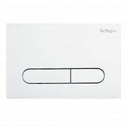 Кнопка смыва BelBagno Prospero, 15x23x0,65 см, белый (BB004-PR-BIANCO)