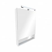 Зеркальный шкаф Roca Gap 80 (ZRU9302887) белый глянец