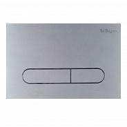 Кнопка смыва BelBagno Prospero, 15x23x0,65 см, хром матовый (BB006-PR-CHROME.M)