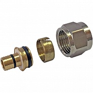 Фитинг Stout компрессионный для труб PE-Xc/Al/ PE-Xc 20х2,9х3/4 (арт. SFC-0026-202934)