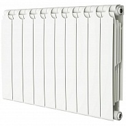 Радиатор биметаллический Теплоприбор BR1-500 10 секций боковое подключение