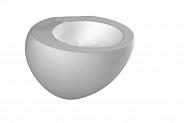 Чаша для приставного унитаза Laufen Alessi One (8.2197.1.400.000.1)
