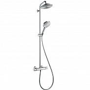 Душевая система Hansgrohe Raindance Select Showerpipe 240 хром (27115000)