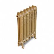 Чугунный ретро-радиатор Exemet Rococo 660/500 1 секция, размер с ножками 660x140x75мм