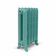 Чугунный ретро-радиатор Exemet Pond 670/500 1 секция, размер с ножками 670х220х78 мм