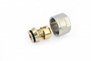 Фитинг Stout компрессионный для труб PEX-AL-PEX 16х2,0х3/4 (арт. SFC-0021-001620)