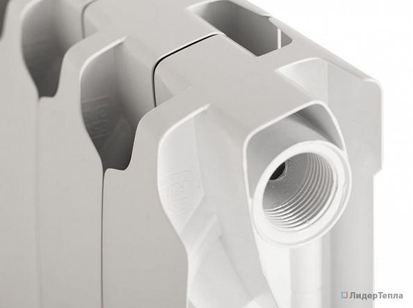 Биметаллический радиатор Sira RS 500, 1 секция, боковое подключение