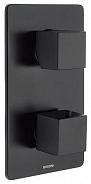 Термостат для ванны и душа Bossini Cube New (Z00061.073) черный мытовый