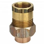 Бронзовое разъемное Viega соединение с коническим уплотнением 15х3/4 ВР